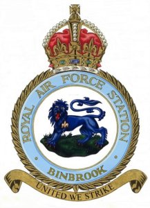 RAF BINBROOK Crest for WT Objection 01